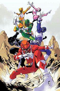 The Mighty Morphin Power Rangers Power Rangers Poster, Power Rangers Fan Art, Power Rangers Comic, Mighty Morphin Power Rangers, Power Ragers, Green Ranger, Cultura Pop, Geek Culture, Gi Joe