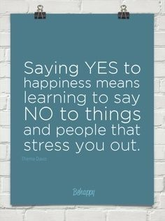 Say yes to life !