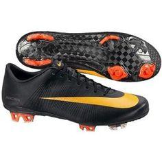 http://www.asneakers4u.com/ Nike Mercurial Vapor Superfly II FG soccer   Black/Circuit Orange/Black cheap cleats out of stock