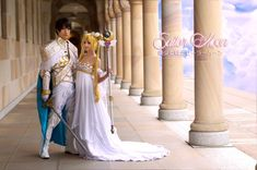 Sailor Moon Prince Endymion Cosplay Tuxedo Mask PGSM Endymion Cosplay Queen Serenity Sailor Moon - Naoto Takeuchi Sailor Moon - 02 - King and Queen Sailor Moon Party, Sailor Chibi Moon, Sailor Moon Cosplay, Sailor Neptune, Sailor Uranus, Sailor Mars, Sao Cosplay, Best Cosplay, Cosplay Style