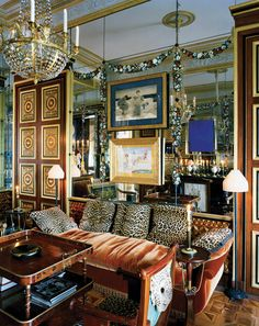 Paris, appartement, décorateur Jacques Garcia © Mai Linh