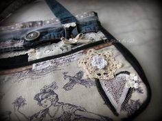 Lo Stile di Giò: Borsa in jeans con carattere - come ti riciclo i j...