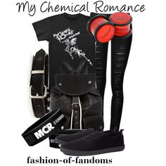 """My Chemical Romance"" by fofandoms on Polyvore"
