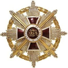 Leopold Order, Grand Cross Star, with WD and golden swords, Firma Rothe & Neffe, Vienna.
