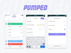 I'm really excited to show off some of the design work that has gone into the project so far! Pumped is an app to help those with Type 1 better manage the disease and log their glucose levels and i...