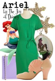 Ariel inspired outfit -- Little Mermaid