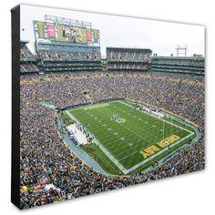 """#Fanatics.com - #Photo File Green Bay Packers 20"""" x 24"""" Stadium Canvas - AdoreWe.com"""
