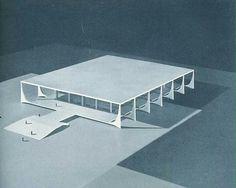 Modernidad latinoamericana... apropiada.  Niemeyer. Módulo 10; 1958.