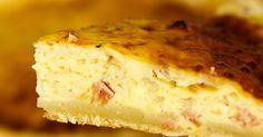 Quiche Lorraine, Types Of Pastry, Spinach Stuffed Mushrooms, Le Diner, Quiche Recipes, Vanilla Cake, Ham, Banana Bread, Sausage