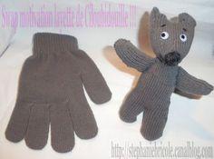 Comment faire un doudou avec un gant gant   TUTO doudou gant !!! -  Stéphanie bricole 56db4c37ba