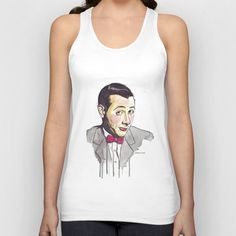 Pee Wee Unisex Tank Top by Jesse Robinson Williams - $22.00