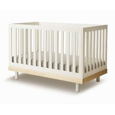Oeuf crib - love the design. my twins had these, they converted to the cutest toddler beds ever.