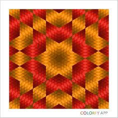 Red and Orange Star