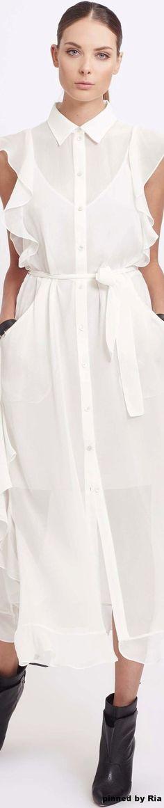 платье-рубашка 2017, белое платье рубашка