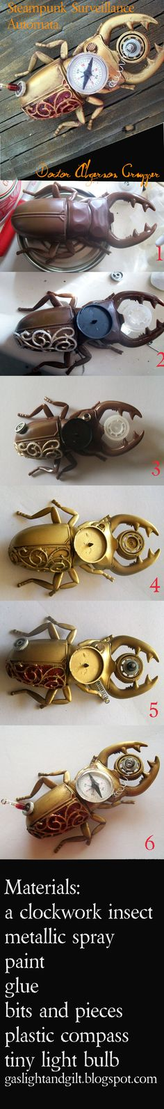 Steampunk Surveillance Arthropod Walkthrough by ~Rhissanna on deviantART