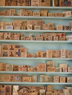 stamp wall