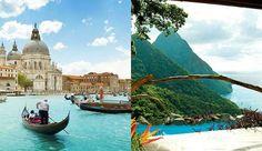 8x de mooiste romantische plekken op aarde.