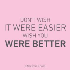 #CAbi - Something to keep in mind when you feel like giving up on any life situation. #MotivationMonday