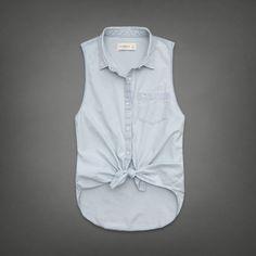 Carissa Denim Shirt by abercrombie