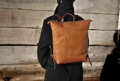 15 Italian leather backpack leather backpack by NellHarperLeather