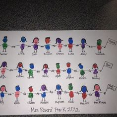 Thank you project for homeroom mom... maybe with fingerprints instead for older kids?