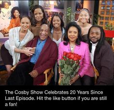 The Cosby show celebrates 20 years since the last episode was aired! Congrats!!! We need more quality shows like this!!! I would settle for at least one!! Real talk!