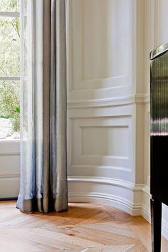 drapes, linen, wall panels