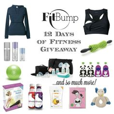 FitBump 12 Days of Fitness Giveaway