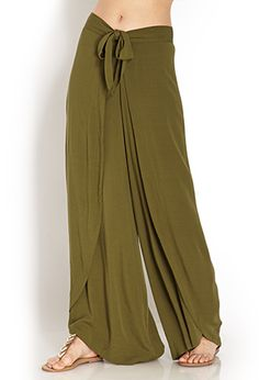 dd96a83db41 Draped Tulip Linen Pants