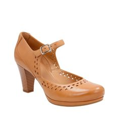 Chorus Chime Light Tan Leather womens-heels