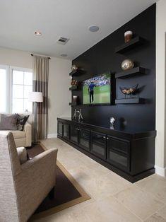 Living Room Design Ideas With TV Set