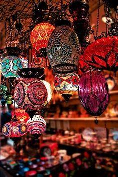 Moroccan Lighting // beautiful