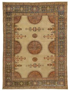 TABRIZ, Northwest Persian 8ft 10in x 12ft 0in Late 19th Century http://gallery.claremontrug.com/gallery/?p=1