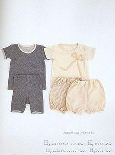 Handmade for Children - japanese sewing pattern