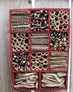 DIY ~ mason bee house