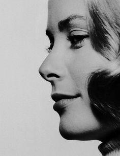 Grace Kelly fotografiada por Philippe Halsman, 1954