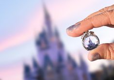 Christa's engagement ring on the day of her surprise Disney vow renewal