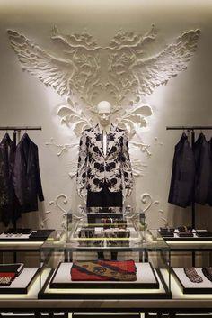 Alexander McQueen's, Store Interior.