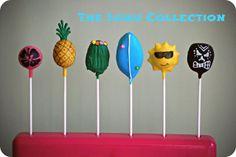 Summer Fun Cake Pops by Beckaboo's Cakes