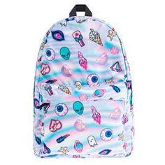 Resultado de imagem para mochila escolar tumblr