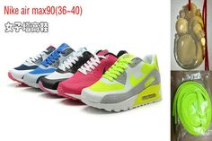 Nike Air Max 90 Premium Womens Colorful Pack /Half off Best Nike Air Max
