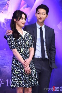 """Descendants of the Sun"" Press Conference Photos 