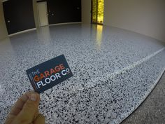 Local Sunshine Beach Epoxy Flooring Installers - The Garage Floor Co are busy installing slip resistant flake epoxy coatings in garages and on patios for residents looking to protect their concrete and add investment to their home. Call us on 0424 320 824 for a free quote, or visit www.thegaragefloorco.com.au Stamped Concrete, Concrete Design, Metallic Epoxy Floor, Epoxy Coating, Sunshine Coast, Garages, Concrete Floors, Quote, Flooring
