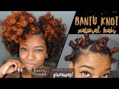 Defined Bantu Knot Out Breakdown | Short/Medium Natural Hair | + Every Strand TM (GIVEAWAY CLOSED) - YouTube