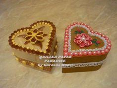 wooden heart boxes