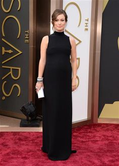 Olivia Wilde attends the 86th annual Academy Awards at the Dolby Theatre in Hollywood on March 2, 2014.  #AcademyAwards