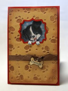 A Star For Chiemi: Sister Stamps Release #15 - Peeking Cappy Bookmark inside