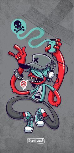 Rockin Guy by cronobreaker.deviantart.com on @deviantART