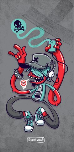 Rockin Guy by cronobreaker.deviantart.com on @deviantART