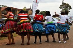 Tswana People have an amazing culture, language and tradition. See famous facts about the Tswana tribe that make them one of the most respected tribes in SA Tsonga Traditional Dresses, Traditional Wedding Dresses, Traditional Outfits, Traditional Weddings, African Print Dresses, African Print Fashion, Cultural Dance, Hair Wrap Scarf, African Love